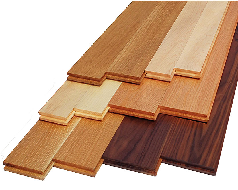 Floor options for Hardwood floor choices